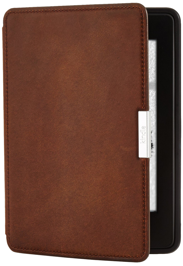Обложка Amazon Kindle PaperWhite Brown Leather LE