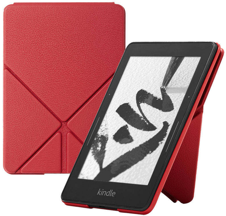 Обложка Kindle Voyage Red Leather